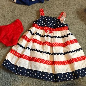 Adorable 4th of July dress for your little one!